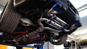 Custom exhaust system